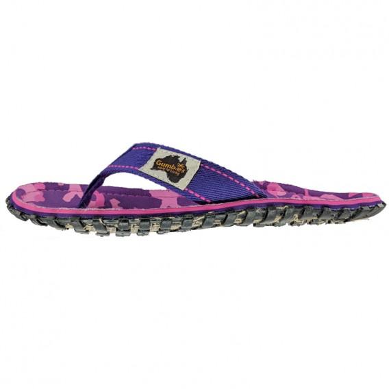 Gumbies Cami Zehentrenner Badelatschen Sandale lila hier im Gumbies-Shop günstig online bestellen