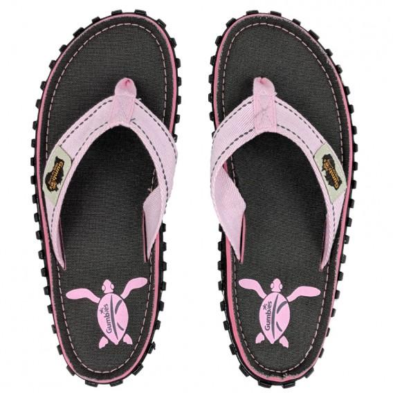 Gumbies Turtle Zehentrenner Badelatschen Sandale pink hier im Gumbies-Shop günstig online bestellen
