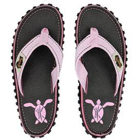 Gumbies Turtle Zehentrenner Flip-Flops Sandale pink