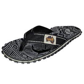 Gumbies Black Nature Zehentrenner Flip-Flops Sandale schwarz im ARTS-Outdoors Gumbies-Online-Shop günstig bestellen
