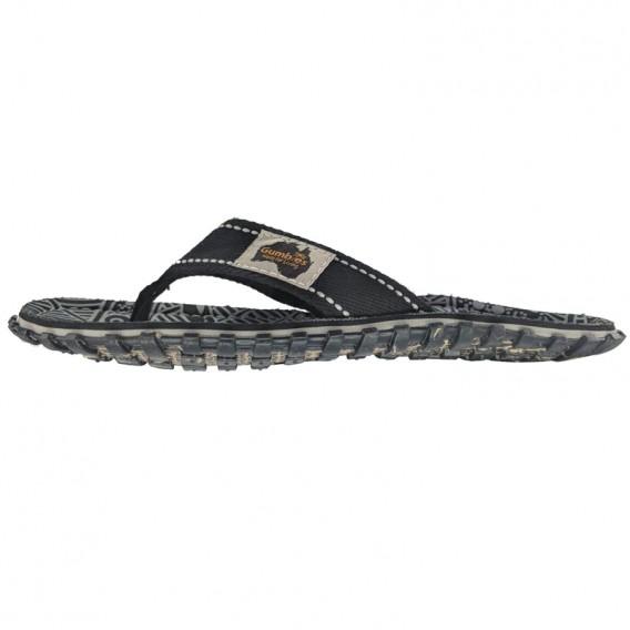 Gumbies Black Nature Zehentrenner Badelatschen Sandale schwarz hier im Gumbies-Shop günstig online bestellen