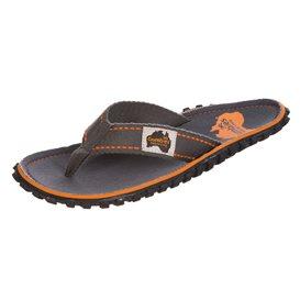 Gumbies Slate Zehentrenner Flip-Flops Sandale grau hier im Gumbies-Shop günstig online bestellen