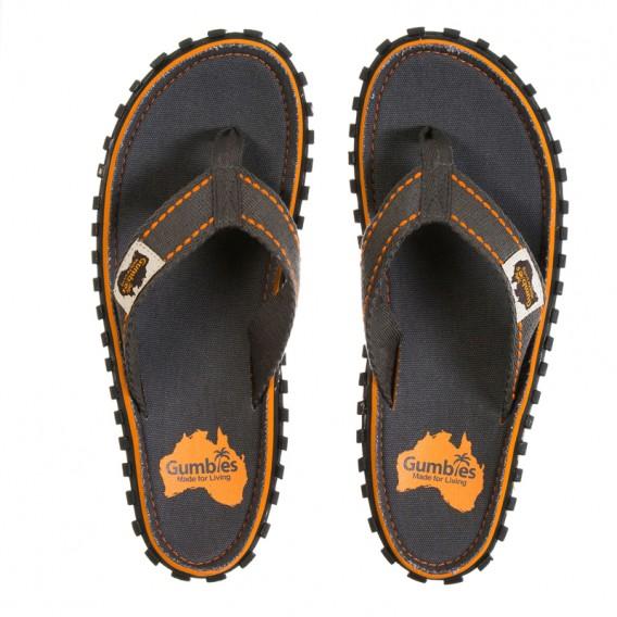 Gumbies Slate Zehentrenner Badelatschen Sandale grau hier im Gumbies-Shop günstig online bestellen