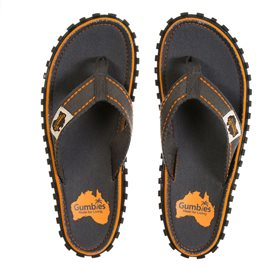 Gumbies Slate Zehentrenner Badelatschen Sandale grau