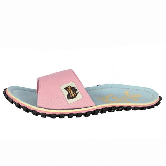 Gumbies Slides Gecko Zehentrenner Flip-Flops Sandale pink hier im Gumbies-Shop günstig online bestellen