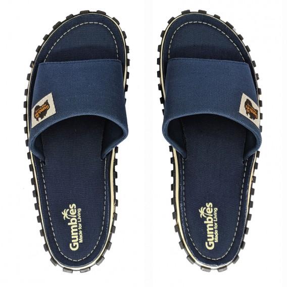 Gumbies Slides Navy Pantoletten Badelatschen Sandale navy hier im Gumbies-Shop günstig online bestellen