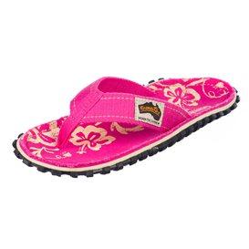 Gumbies Kids Pink Hibiscus Kinder Zehentrenner Flip-Flops Sandale pink hier im Gumbies-Shop günstig online bestellen