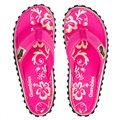 Gumbies Kids Pink Hibiscus Kinder Zehentrenner Badelatschen Sandale pink
