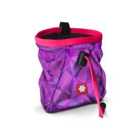 Ocun Lucky + Belt Chalkbag Beutel für Kletterkreide violet