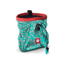 Ocun Lucky + Belt Chalkbag Beutel für Kletterkreide screams turquoise
