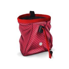 Ocun Lucky + Belt Chalkbag Beutel für Kletterkreide cult red