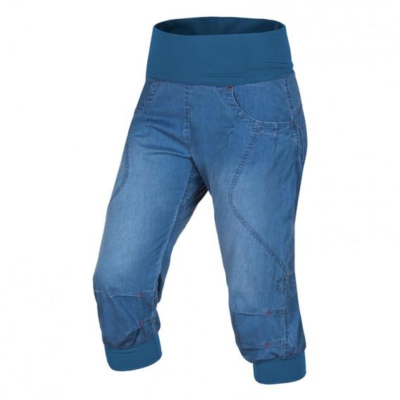 Ocun Noya Shorts Jeans kurze Kletterhose Sporthose middle blue hier im Ocun-Shop günstig online bestellen