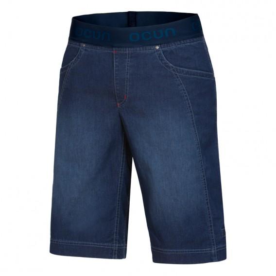 Ocun Mania Shorts Jeans kurze Kletterhose Sporthose dark blue hier im Ocun-Shop günstig online bestellen