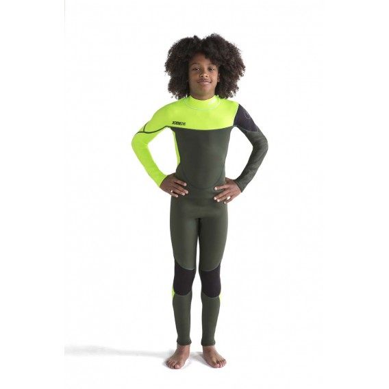 Jobe Boston Fullsuit 3/2 mm langer Neoprenanzug für Kinder army green hier im Jobe-Shop günstig online bestellen