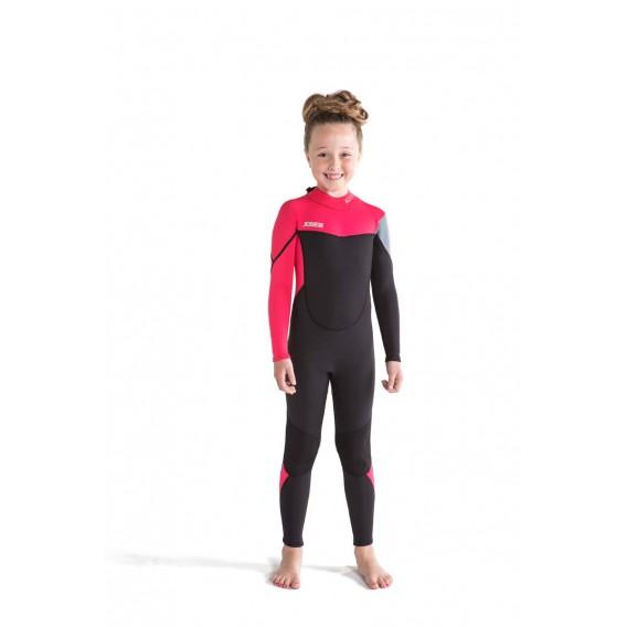 Jobe Boston Fullsuit 3/2 mm langer Neoprenanzug für Kinder hot pink hier im Jobe-Shop günstig online bestellen