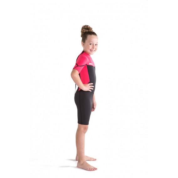 Jobe Boston Shorty 2 mm kurzer Neoprenanzug für Kinder hot pink hier im Jobe-Shop günstig online bestellen