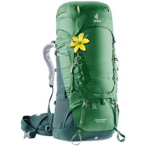 Deuter Aircontact 60 + 10 SL Damen Trekkingrucksack Wanderrucksack leaf-forest hier im Deuter-Shop günstig online bestellen