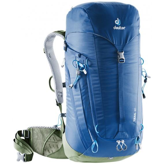 Deuter Trail 30 Wanderrucksack Daypack steel-khaki hier im Deuter-Shop günstig online bestellen