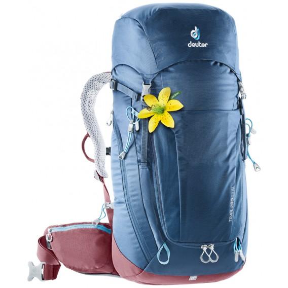 Deuter Trail Pro 34 SL Damen Wanderrucksack Daypack midnight-maron hier im Deuter-Shop günstig online bestellen