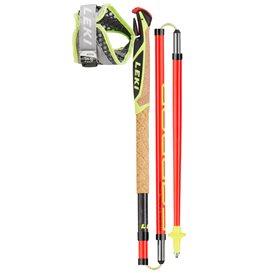 Leki Micro Trail Pro Trail Running Stöcke schwarz-rot-grau-neongelb hier im Leki-Shop günstig online bestellen