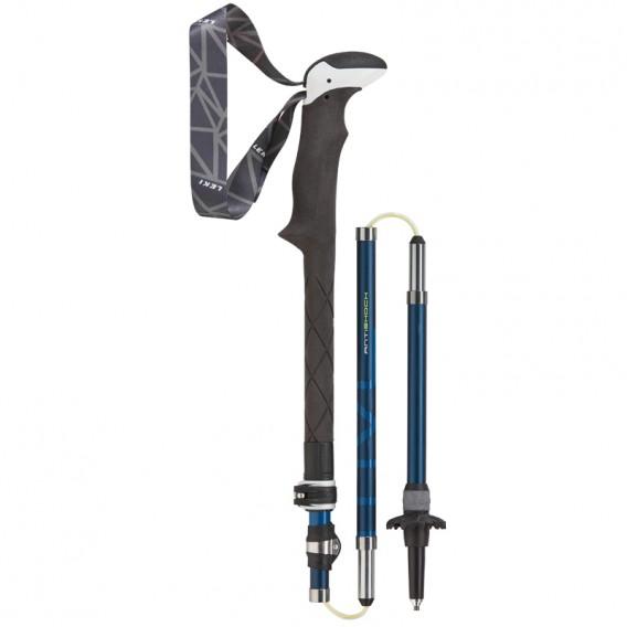 Leki Micro Vario Carbon AS Trekkingstöcke blau-weiss-blau-limette hier im Leki-Shop günstig online bestellen