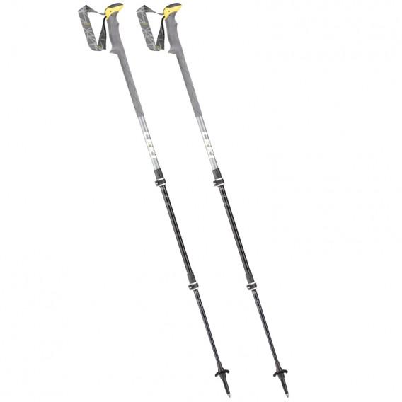 Leki Sherpa XTG Trekkingstöcke grau-weiss-gelb hier im Leki-Shop günstig online bestellen
