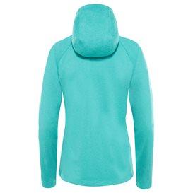 The North Face Mezzaluna Hoodie Damen Fleecejacke ion blue-white heather hier im The North Face-Shop günstig online bestellen