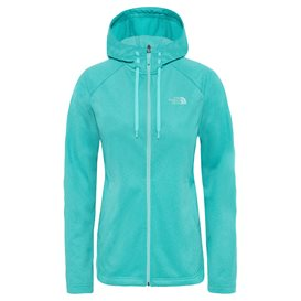 The North Face Tech Mezzaluna Hoodie Damen Jacke ion blue-white heather