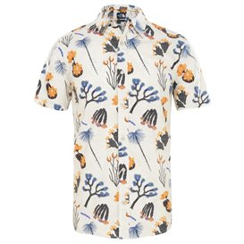 The North Face Baytrail Shirt Herren Kurzarm T-Shirt citrine yellow-joshua tree print