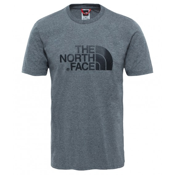 The North Face Easy Tee Herren Kurzarm T-Shirt grey heather hier im The North Face-Shop günstig online bestellen