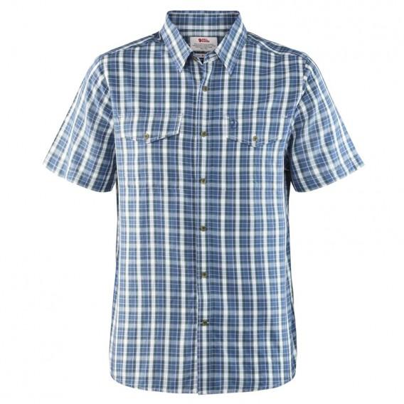 73f1010218fb9f Fjällräven Abisko Cool Shirt Shortsleeve Herren Freizeit und Outdoor  Kurzarm Hemd uncle blue im ARTS-