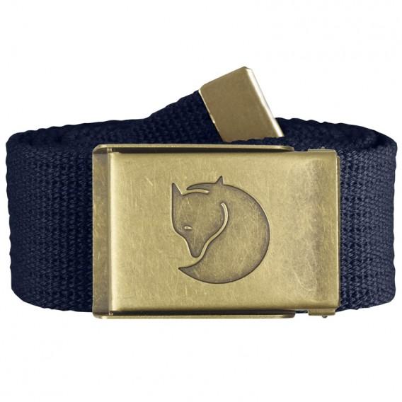 Fjällräven Canvas Brass Belt 4 cm Stoffgürtel dark navy hier im Fjällräven-Shop günstig online bestellen