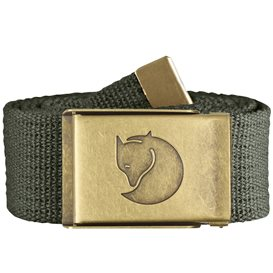Fjällräven Canvas Brass Belt 4 cm Stoffgürtel mountain grey
