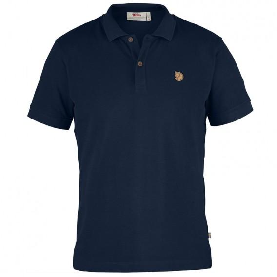 Fjällräven Övik Polo Shirt Herren Freizeit und Outdoor Kurzarm Shirt navy hier im Fjällräven-Shop günstig online bestellen
