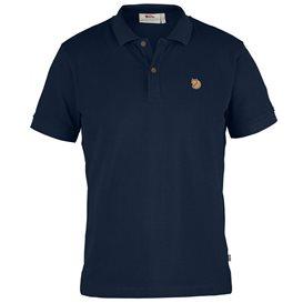Fjällräven Övik Polo Shirt Herren Freizeit und Outdoor Kurzarm Shirt navy