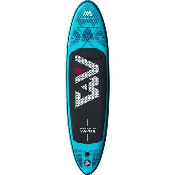 Aqua Marina Vapor 9.1 komplett Set aufblasbares Stand Up Paddle Board SUP im ARTS-Outdoors Aqua Marina-Online-Shop günstig beste