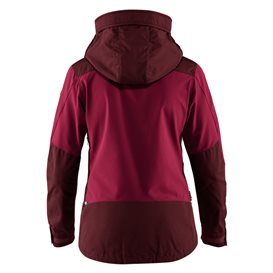 Fjällräven Keb Jacket Damen Outdoor und Übergangsjacke dark garnet-plum hier im Fjällräven-Shop günstig online bestellen