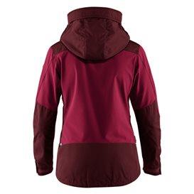 Fjällräven Keb Jacket Damen Outdoor und Übergangsjacke dark garnet-plum