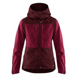 Fjällräven Keb Jacket Damen Outdoor und Übergangsjacke dark garnet-plum im ARTS-Outdoors Fjällräven-Online-Shop günstig bestelle