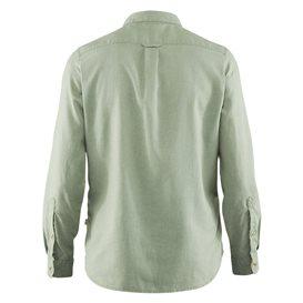 Fjällräven Övik Travel Shirt Longsleeve Damen Outdoor und Freizeit Langarm Shirt sage green hier im Fjällräven-Shop günstig onli