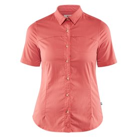 Fjällräven High Coast Stretch Shirt Shortsleeve Damen Outdoor und Freizeit Kurzarm Shirt dahlia hier im Fjällräven-Shop günstig