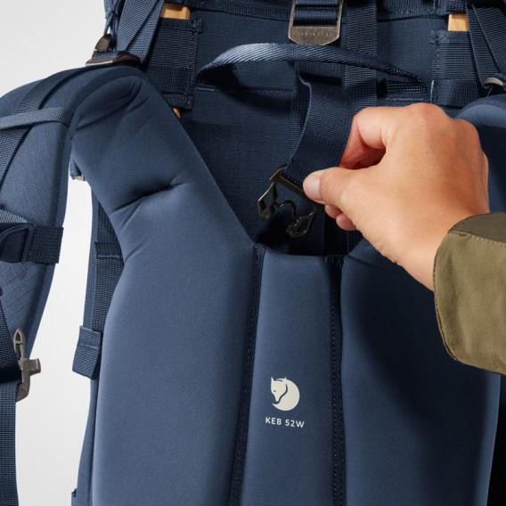 Fjällräven Keb 52 W Damen Rucksack Trekkingrucksack storm-dark navy hier im Fjällräven-Shop günstig online bestellen