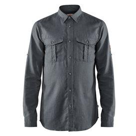 Fjällräven Övik Travel Shirt Longsleeve Herren Freizeit und Outdoor Langarm Hemd dusk im ARTS-Outdoors Fjällräven-Online-Shop gü