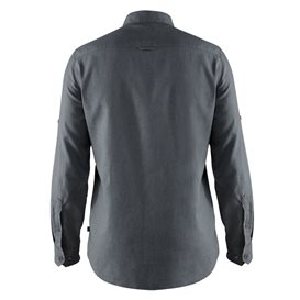 Fjällräven Övik Travel Shirt Longsleeve Herren Freizeit und Outdoor Langarm Hemd dusk hier im Fjällräven-Shop günstig online bes