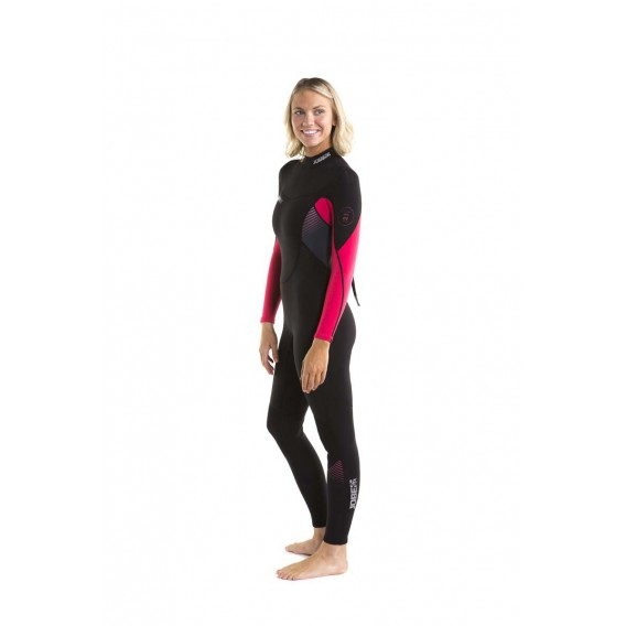 Jobe Sofia Fullsuit 3/2 mm langer Damen Neoprenanzug hot pink hier im Jobe-Shop günstig online bestellen