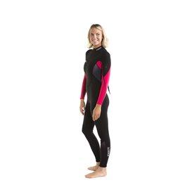 Jobe Sofia Fullsuit 3/2 mm langer Damen Neoprenanzug hot pink im ARTS-Outdoors Jobe-Online-Shop günstig bestellen