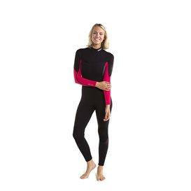 Jobe Sofia Fullsuit 3/2 mm langer Damen Neoprenanzug hot pink