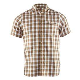 Fjällräven Singi Shirt Shortsleeve Herren Freizeit und Outdoor Kurzarm Shirt savanna