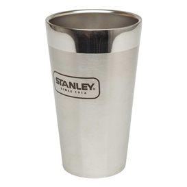 Stanley Adventure Vakuum Pint 0,47 l Thermobecher aus Edelstahl silber