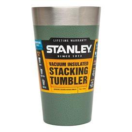 Stanley Adventure Vakuum Pint 0,47 l Thermobecher aus Edelstahl grün